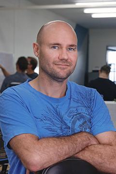 Kieran Schriever - InteliCare Senior Developer