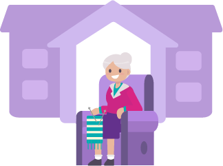elderly at home
