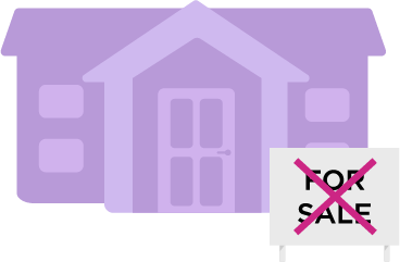 house not for sale icon