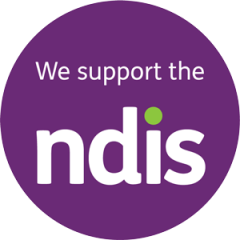 we support the ndis - logo